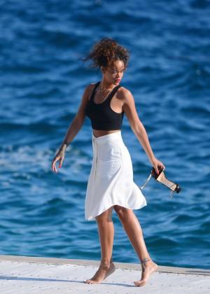 Rihanna On Vacationing In Saint Tropez Gotceleb