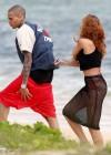 Rihanna in bikini bottom in Hawaii -01