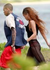 Rihanna in bikini bottom in Hawaii -05