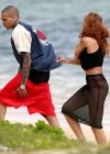 Rihanna in bikini bottom in Hawaii -07