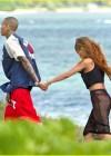 Rihanna in bikini bottom in Hawaii -08