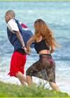 Rihanna in bikini bottom in Hawaii -13