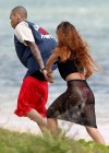 Rihanna in bikini bottom in Hawaii -14