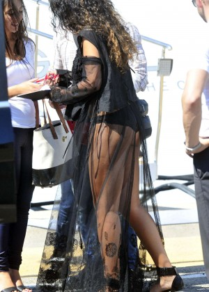 Rihanna Hot in France -01