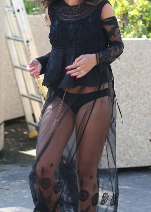 Rihanna Hot in France -05