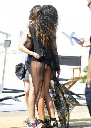 Rihanna Hot in France -08