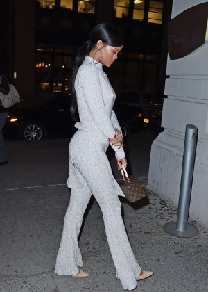 Rihanna at Philippe Chow Restaurant in New York City