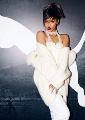 Rihanna - Puma Reminds Me of My Childhood