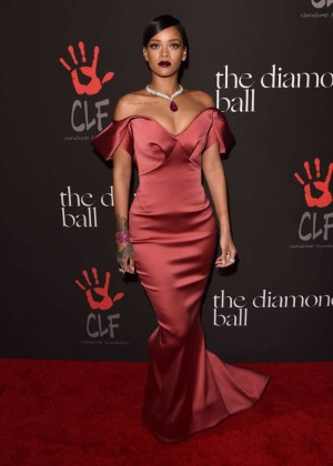 Rihanna - Rihanna's 1st Annual Diamond Ball Benefit in Beverly Hills