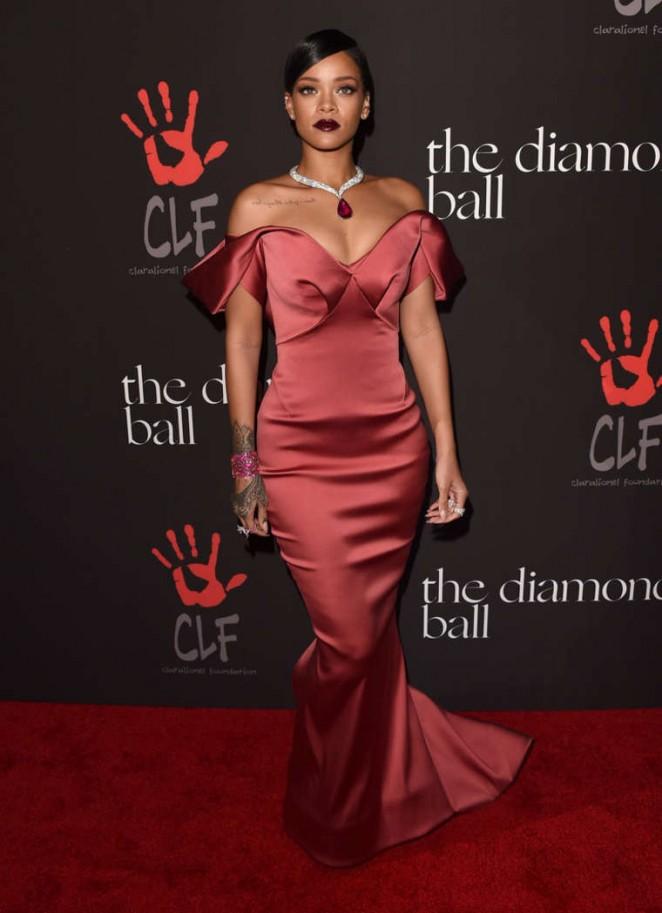 Rihanna - Rihanna's 1st Annual Diamond Ball Benefit in Beverly Hills