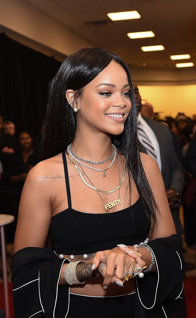 Rihanna - ROGUE MAN Fragrance Launch in Atlanta