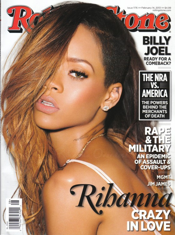 Rihanna - Rolling Stone Magazine (February 2013)