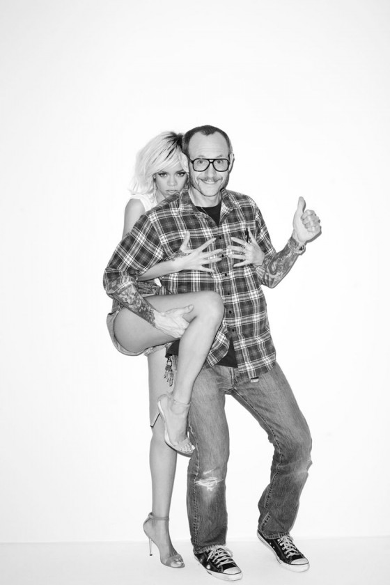 Rihanna – Terry Richardson photoshoot 2012-12