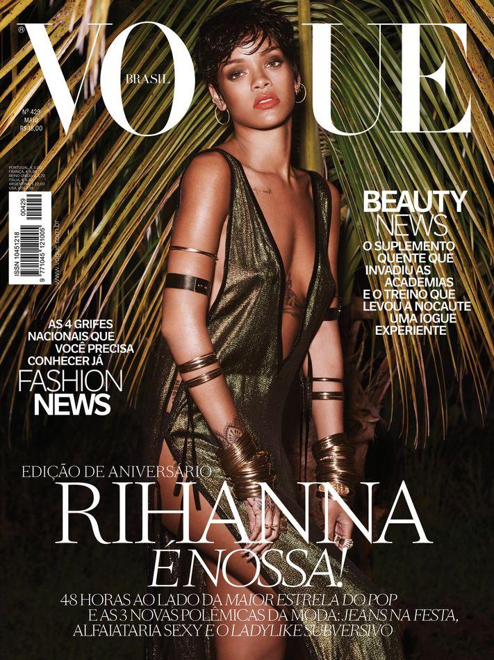 Rihanna – Vogue Brazil Magazine (May 2014)