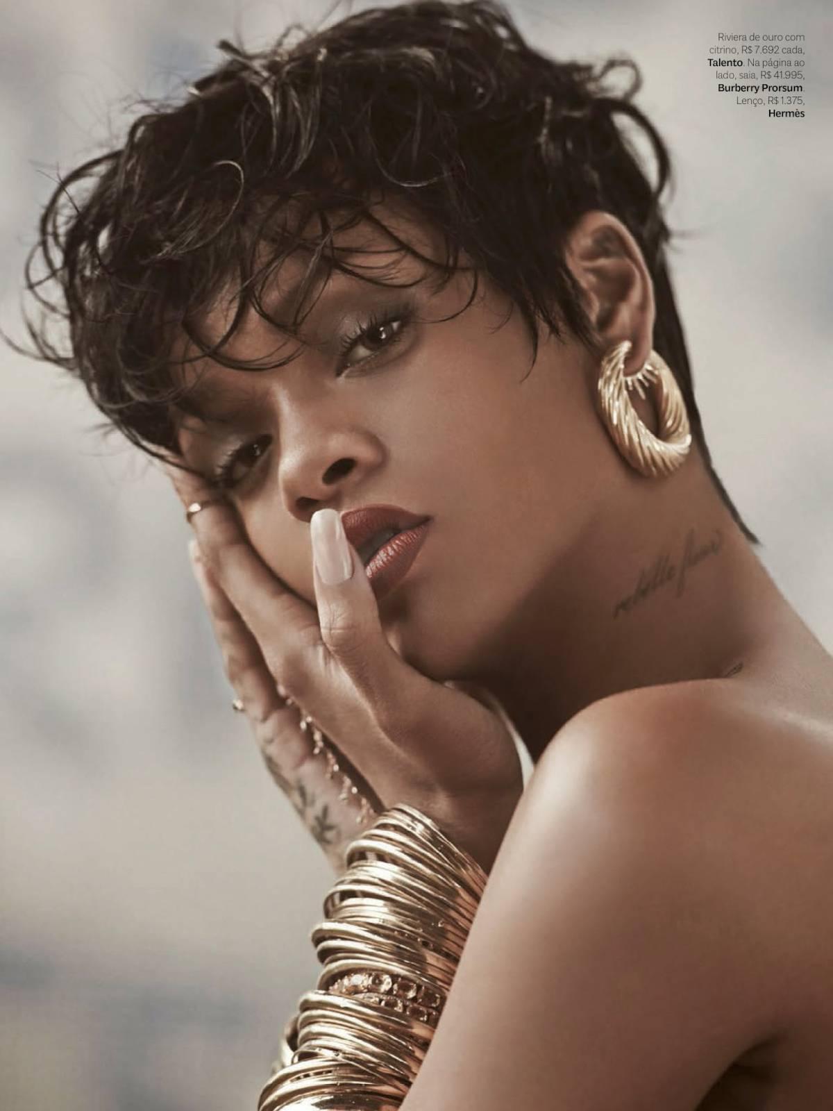Rihanna Vogue Brazil May 2014 10 Gotceleb