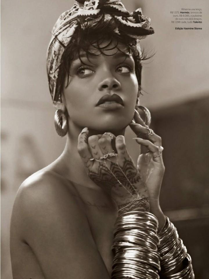 Rihanna – Vogue Brazil (May 2014)