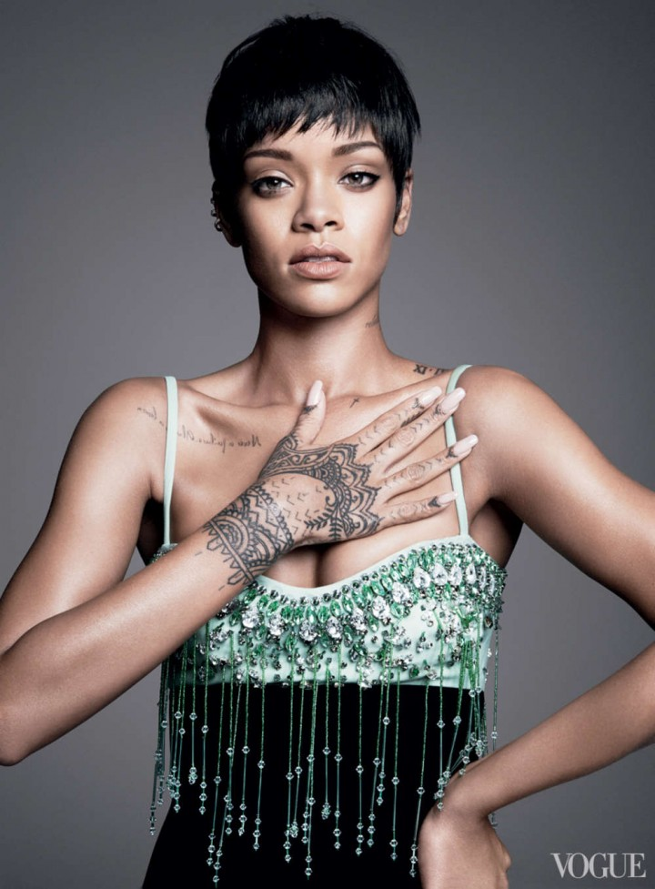 Rihanna: Vogue US -10