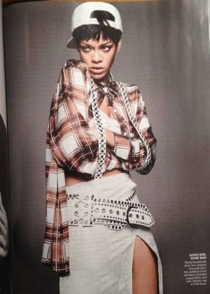 Rihanna: Vogue US Magazine -02