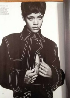 Rihanna: Vogue US Magazine -03