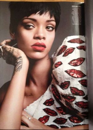 Rihanna: Vogue US Magazine -04