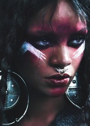 Rihanna - W magazine (Spetember 2014)