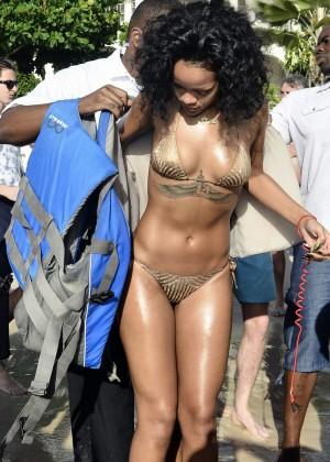 Rihanna Bikini: 2013 Pics Barbados-09