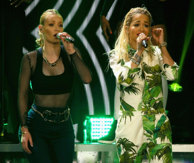 Rita Ora: 103 5 KISS FMs Jingle Ball -02