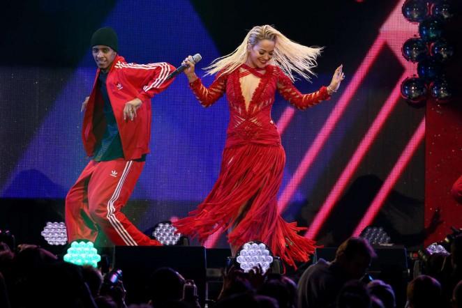 Rita Ora: 103 5 KISS FMs Jingle Ball -10