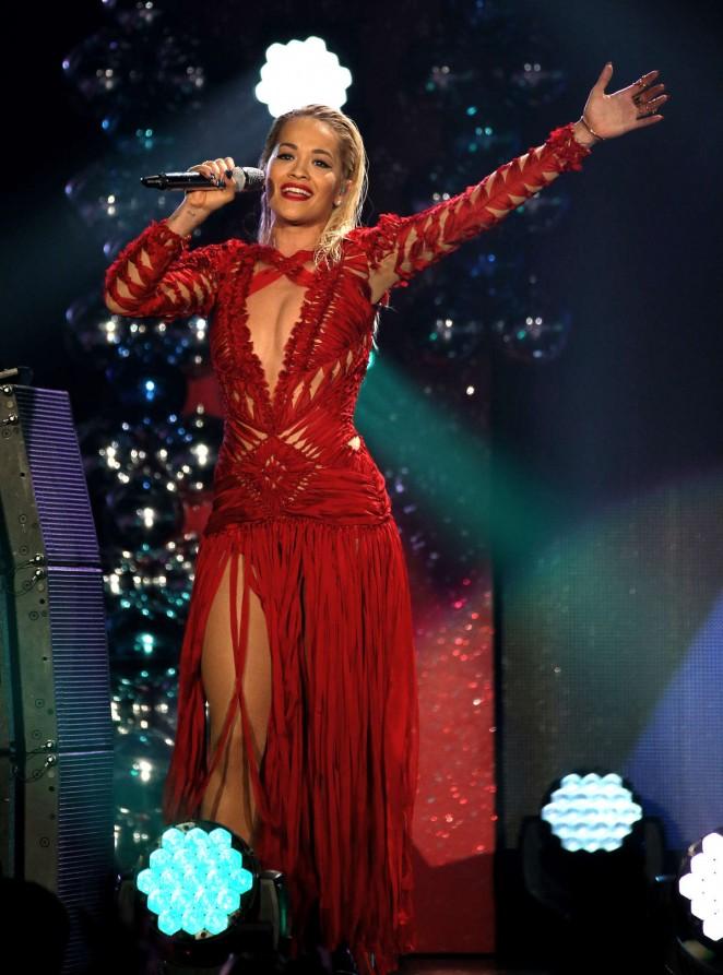 Rita Ora: 103 5 KISS FMs Jingle Ball -13