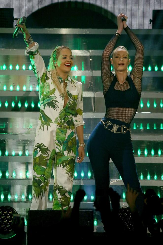 Rita Ora: 103 5 KISS FMs Jingle Ball -23