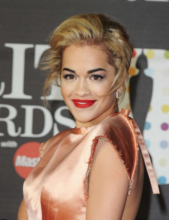 Rita Ora at Brit Awards 2013 -03