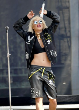Rita Ora - 2014 Budweiser 'Made In America Festival' Day 2 in Los Angeles