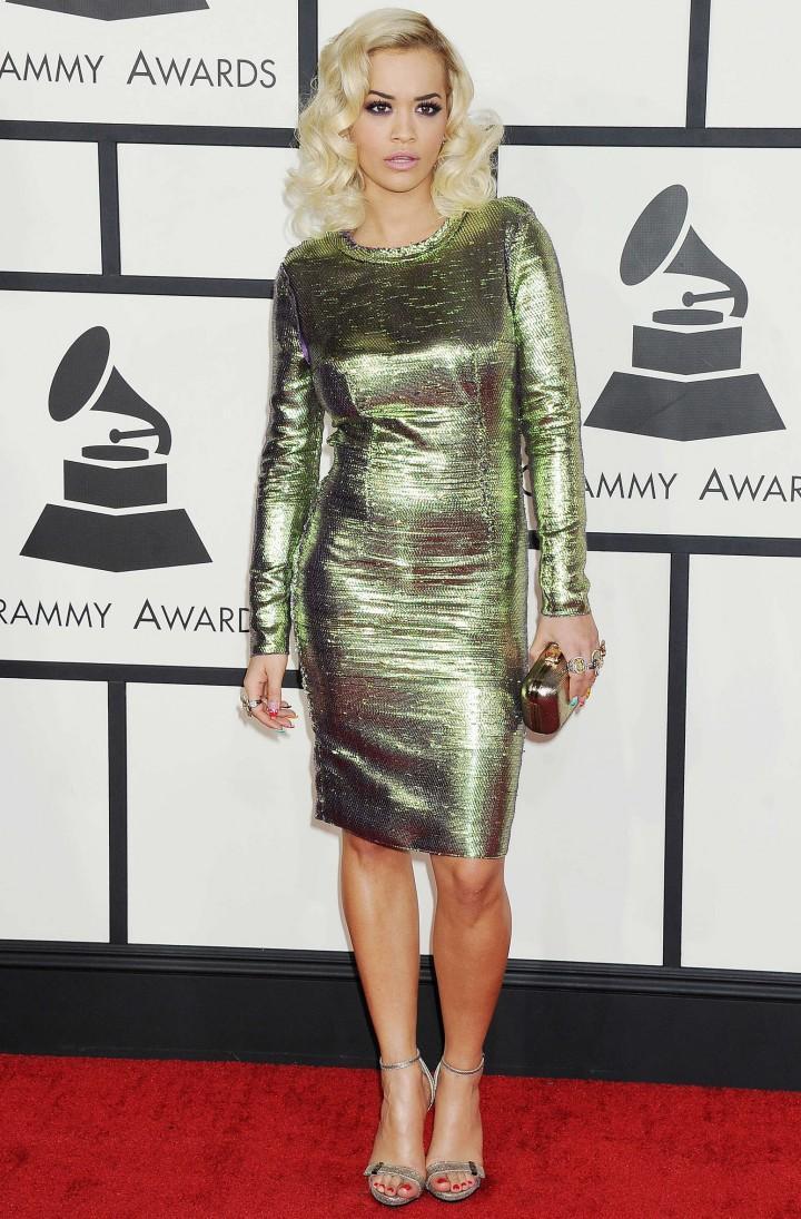 Rita Ora: 56th 2014 Grammy -04