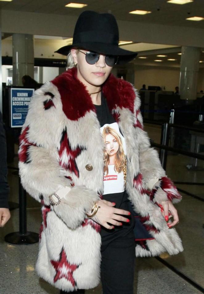 Rita Ora at LAX in LA