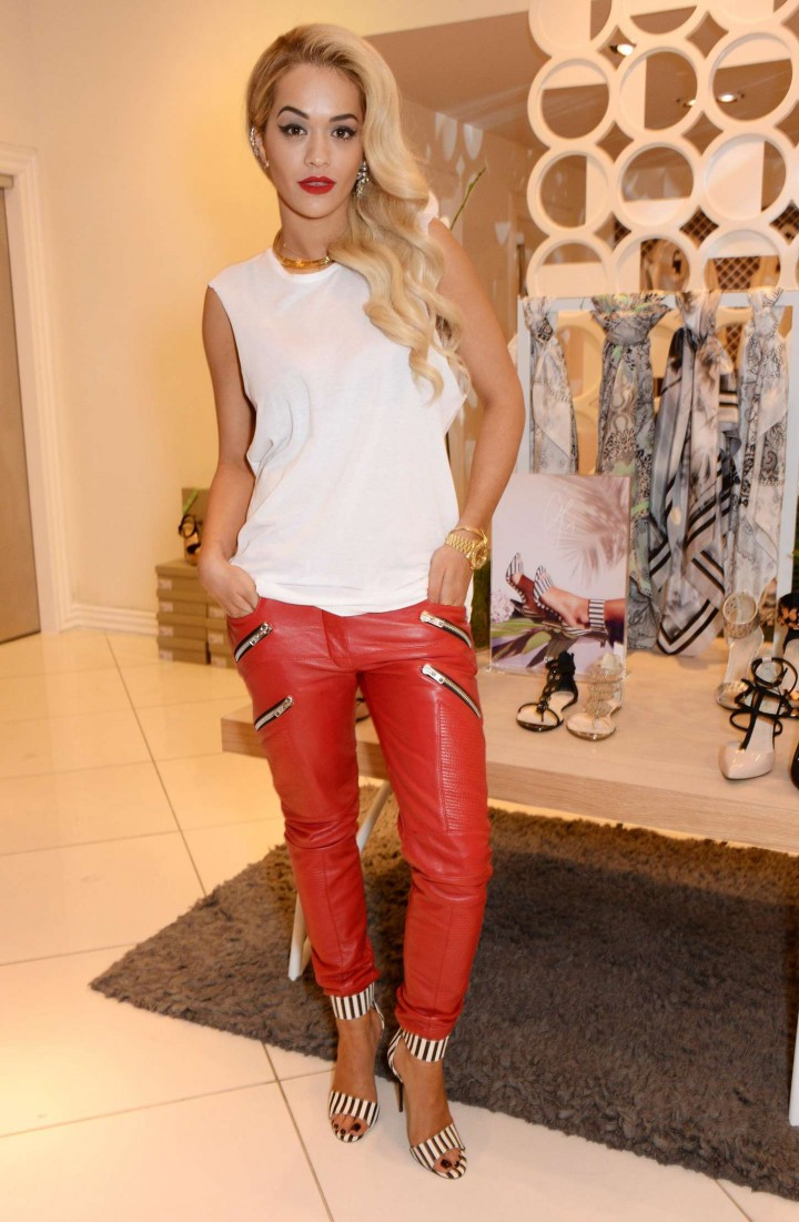 Rita Ora at the Topshop Party in London