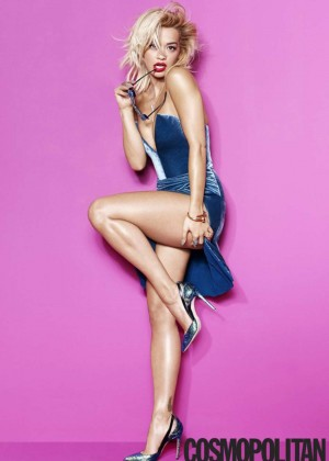 Rita Ora - Cosmopolitan Magazine (December 2014)