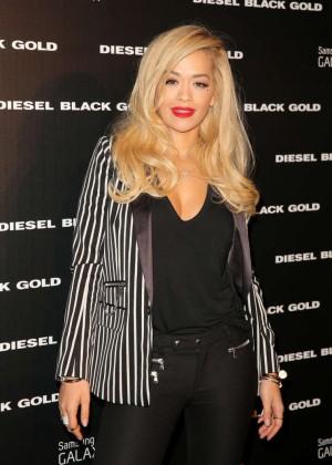 Rita Ora - Diesel Black Gold Spring 2015 Fashion Show in NYC