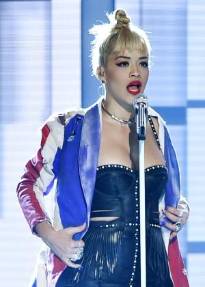 Rita Ora PerformsLive at Fashion Rocks 2014 -12