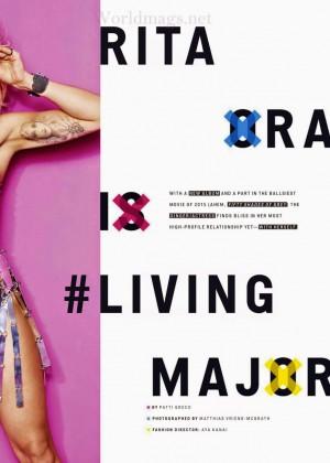 Rita Ora - Cosmopolitan USA 2014 -03