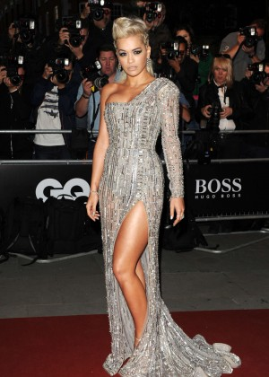 Rita Ora - 2014 GQ Men of the Year Awards in London