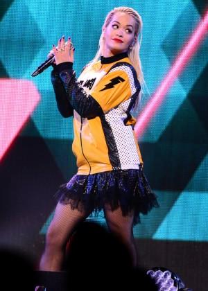 Rita Ora - Performs at HOT 99.5's Jingle Ball 2014 in Washington