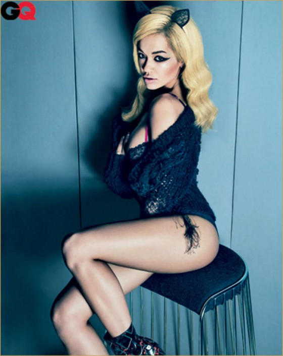 Rita Ora In GQ Magazine's September Issue