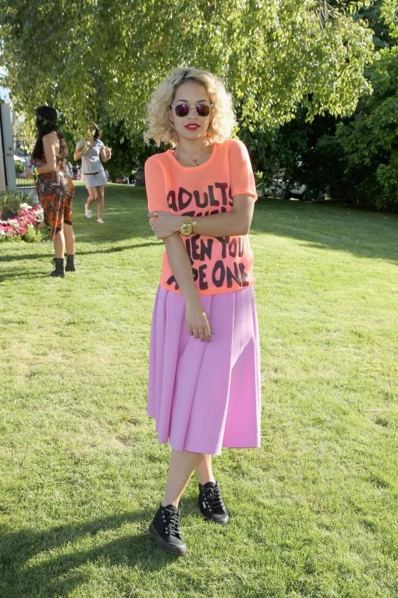 Rita Ora at Lacoste LiVE Pool Party at Coachella -01