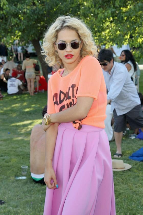 Rita Ora at Lacoste LiVE Pool Party at Coachella -03