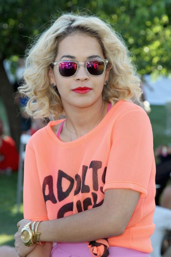 Rita Ora at Lacoste LiVE Pool Party at Coachella -05