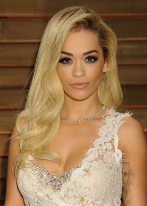 Rita Ora: Oscar 2014 - Vanity Fair Party -05
