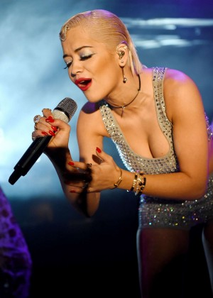 Rita Ora - Performs at The 02 Shepherd's Bush Empire in London