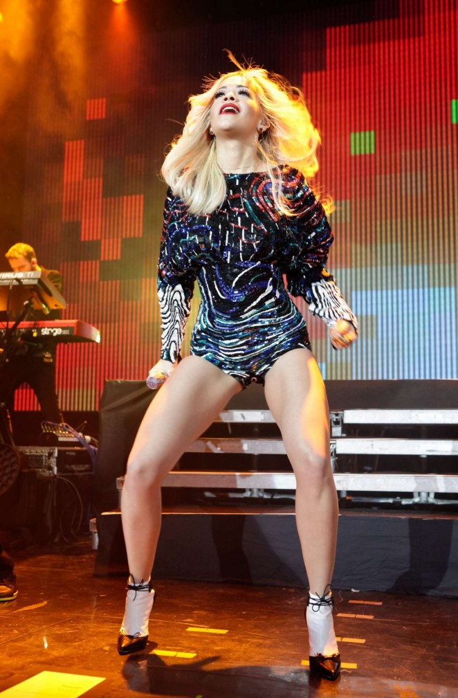 Rita Ora - Performs Live in Moscow