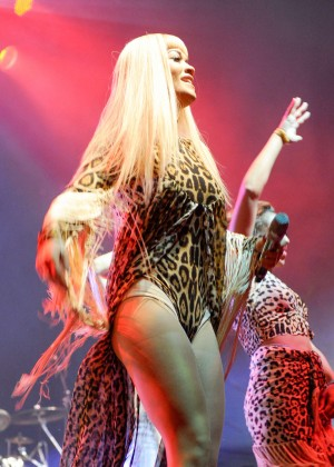 Rita Ora Performs at V Festival Day 1 in Chelmsford