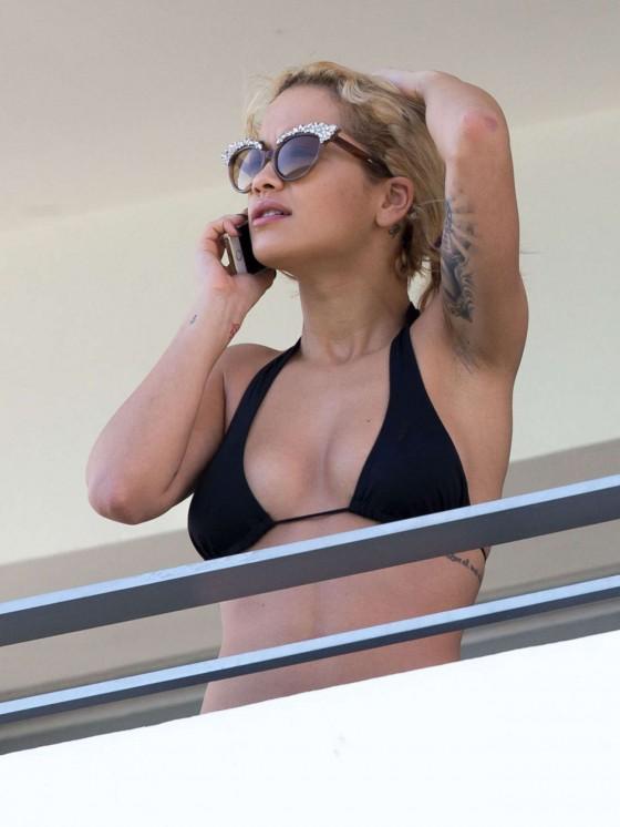 Rita Ora Bikini Photos: Miami -03